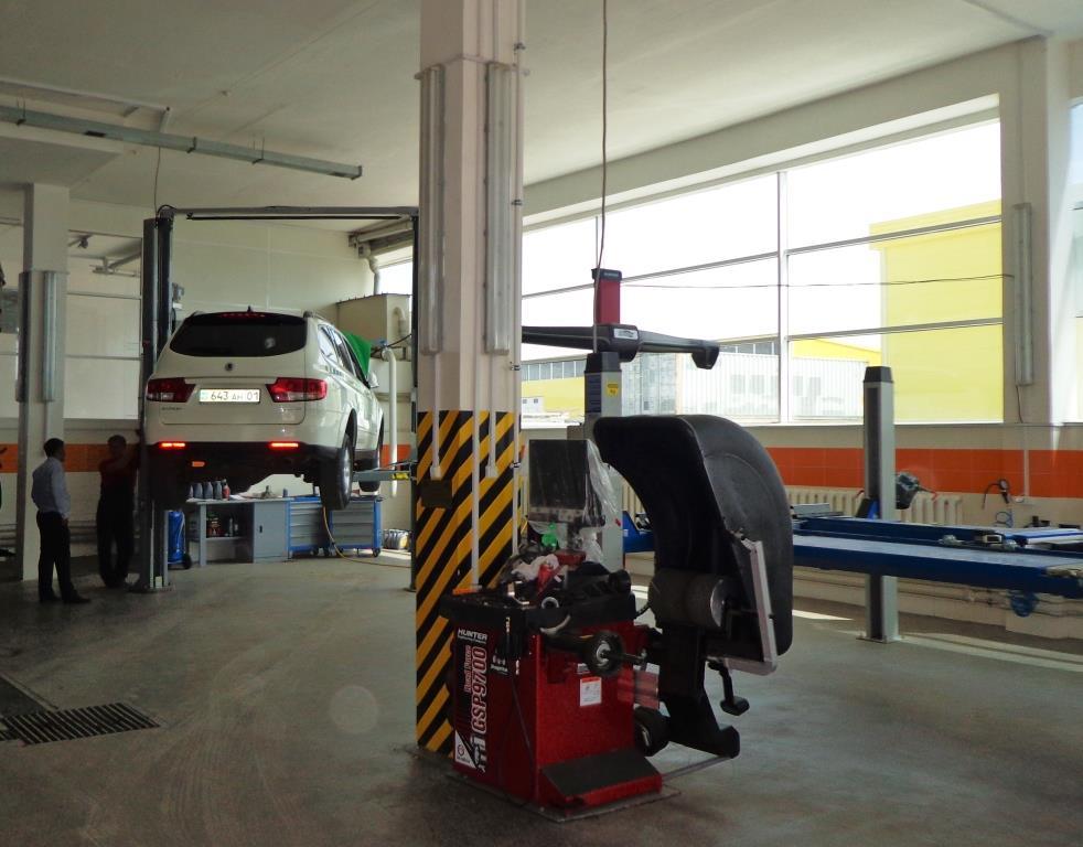 Astana Car Service 1